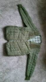 Barbour green golfers jacket