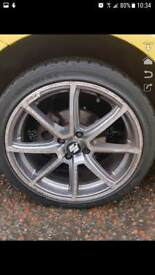 "17"" fox alloy wheels"