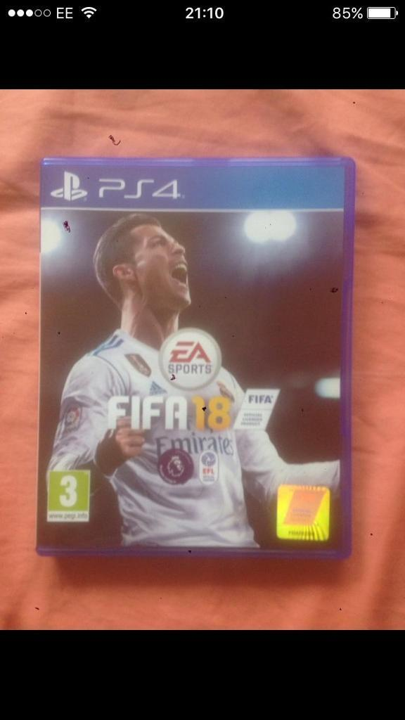 Fifa 18 PS4 £35