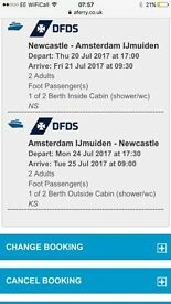 Newcastle to Amsterdam IjMuiden ferry tickets