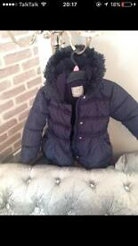 Girls kids coat age 4-5