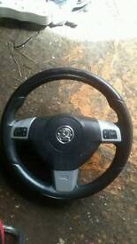 Astra vxr steering wheel