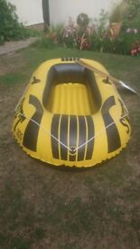 Inflatable toy dinghy