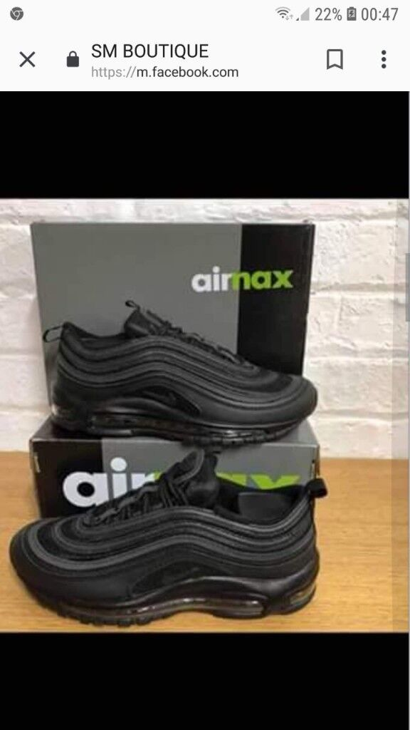 4d81b85598c3 Mens air max 97 s. Newport £45.00