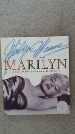 Marilyn Monroe book - 35th Anniversary Edition