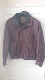 Lovely leather Jacket size L