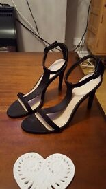 Black Stiletto Heels