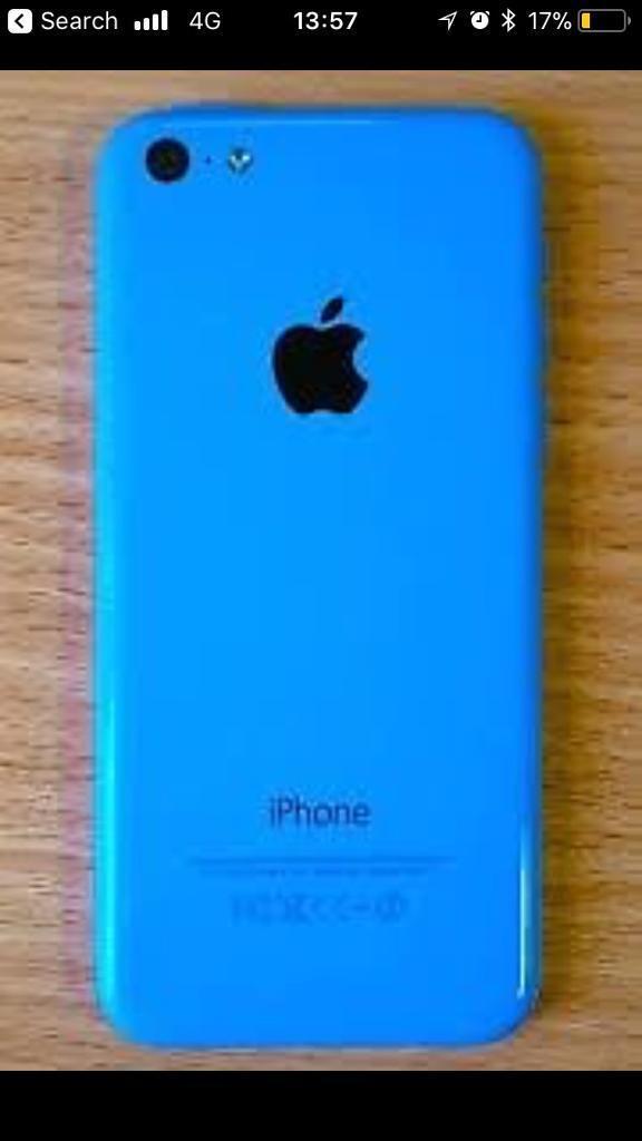 iPhone 5c blue 16 GB