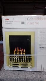 Traditional Gas Insert Fire