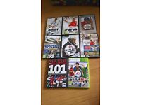 job lot collection of pc xbox games sports