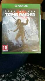 Rise of the Tomb Raider Xbox One Game. Sealed Brand New