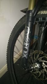 2016 Fox fork with damper knob to be replaced