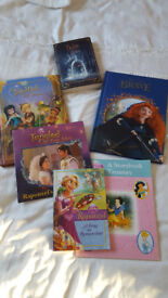 Disney Books including Tinker Bell, Beauty and Beast, Brave etc