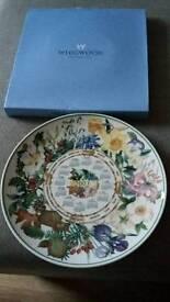 Wedgwood 2003 calender plate