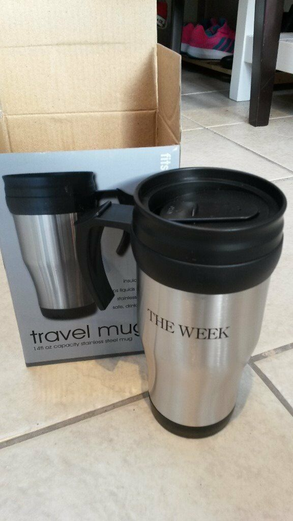 Unused travel mug for sale