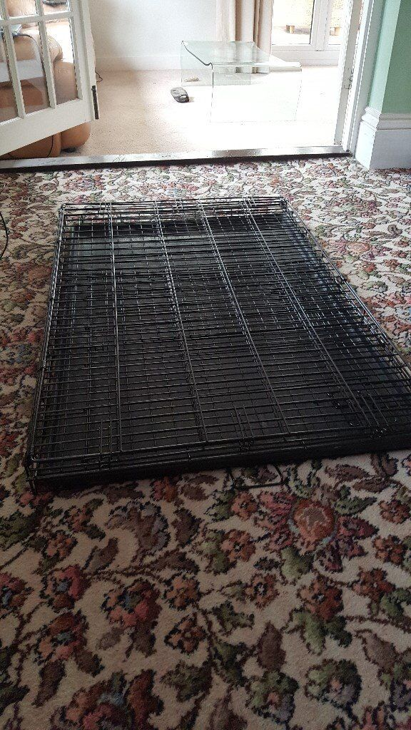 Fold Down Dog Crate XL