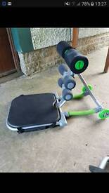 Confidence fitness AB trainer