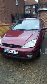 FORD FOCUS 2004, AUTOMATIC, RED, MOT, CD PLAYER, EXCELLENT DRIVE