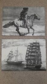 Pencil Drawing Prints