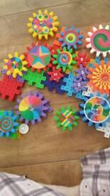 Toy kaleidogears