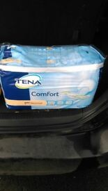 Tena Comfort pads for sale £3 a bag