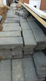 Block paving charcoal second hand