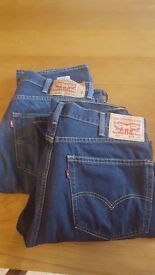 Levis 501 and 505
