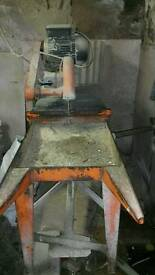Large table saw used to cut marble/granite/wood
