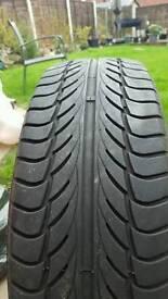 2 x 195 65 15 tyres £5 each