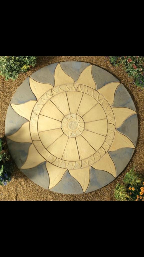 Garden Slabs - Sun Flare Design