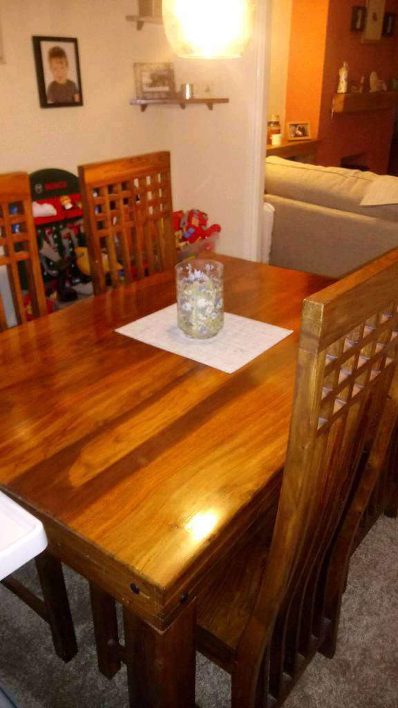 Dining Table And Chairs Bishop Auckland