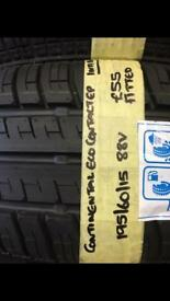 195/60/15 88V CONTINENTAL ECO CONTACT tyre