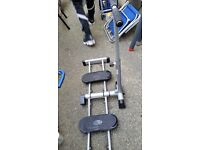 Foldable Leg Shaper exercist machine. Collect NW2.