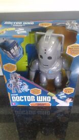 Dr who cyberman attack- Brand new in box
