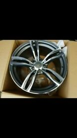 "18"" 343m Style Alloy Wheels Set for BMW"