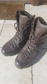 British army karrimor boots