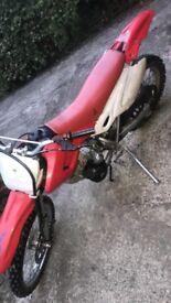 Honda 125cc scrambler