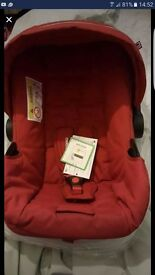 Mother care carseat bnwt