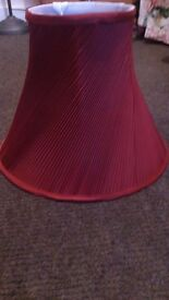 LOVELY TWISTED PLEAT LAMPSHADE
