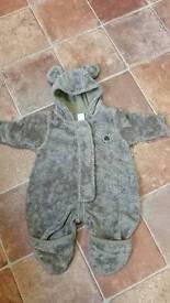 Newborn teddy bear suit