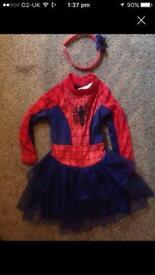 Spider-Man dress up girls 2-3 years