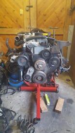 Jeep cherokee 2.5 td engine