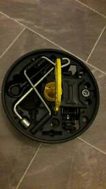 Spare Wheel Kit from a Clio including Jack