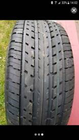 New Goodyear tyre with alloy