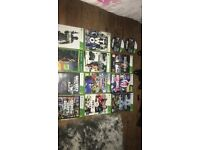 Xbox 360 with Kinect + 13 games and 2 controllers