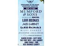SOLD - Longitude- Mumford and Sons (Sunday only) and