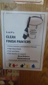 L&P CLEAN FINISH PAINTERS