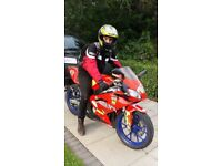 Aprillia RS 50cc great looking bike for any 16 yr old (NOW SOLD)
