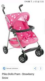 Dolls pushchair - Mamas and Papas