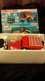 Joustra renote control 1981 landcruiser in box £45 read blw& check online prices selling cheap £45
